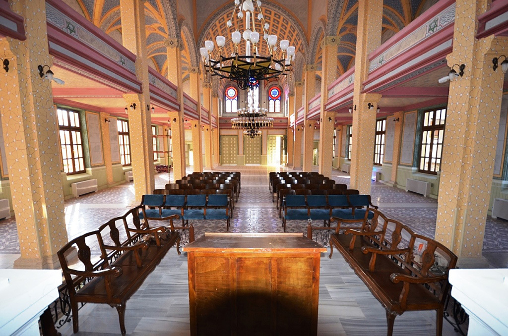 The Great Synagogue of Edirne in Turkey reopened for service today after five years of restoration.