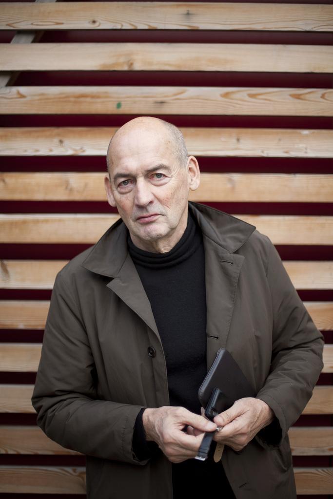Rem Koolhaas, via Strelka Institute for Media, Architecture and Design / flickr.