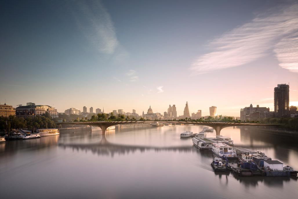 Can you spare £30 million? Thomas Heatherwicks (increasingly) potential Garden Bridge