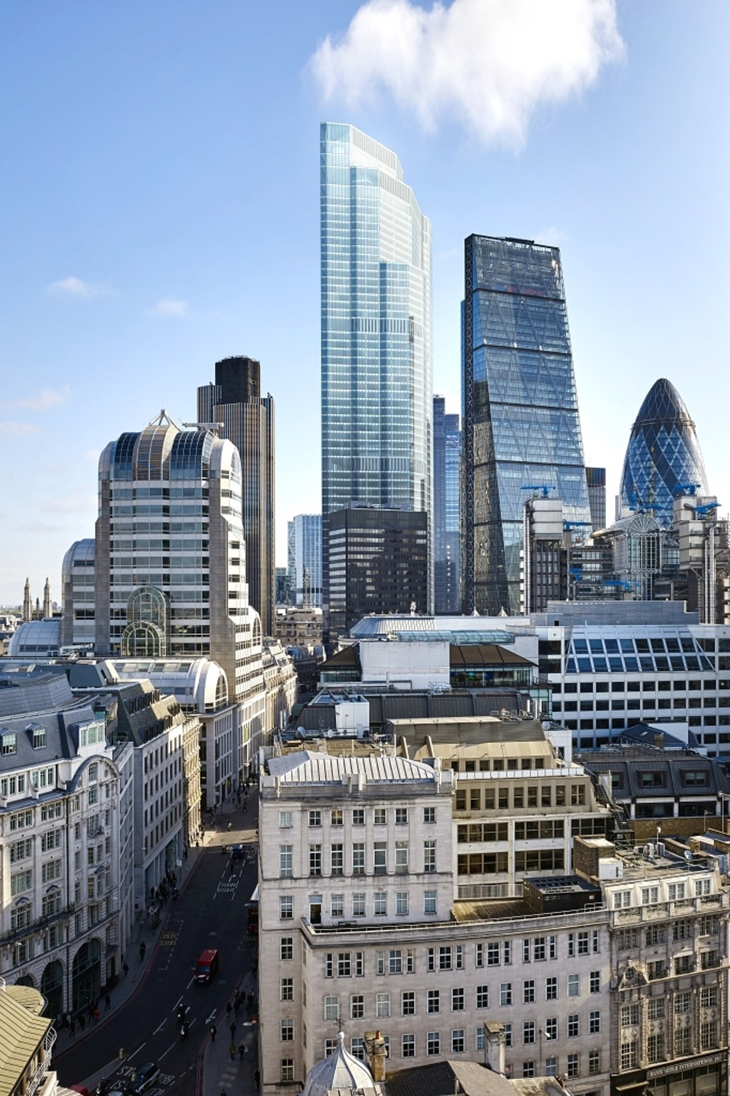 Move over, Cheesegrater & Gherkin: now pumped with new lifeblood, 22 Bishopsgate will be the City of Londons tallest building. (Rendering by PLP Architecture)