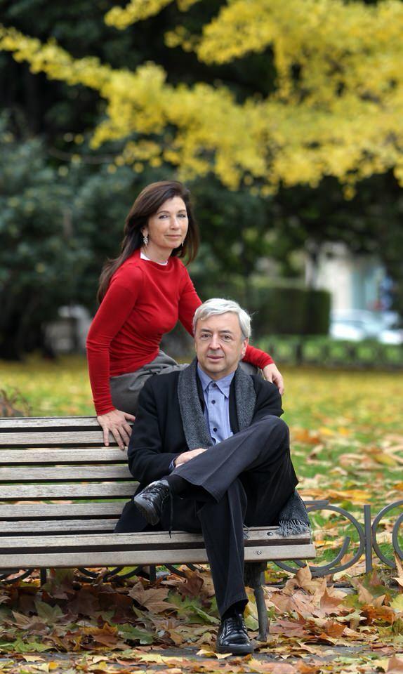 Fuensanta Nieto and Enrique Sobejano. Photo by ©2010 Luis Sevillano
