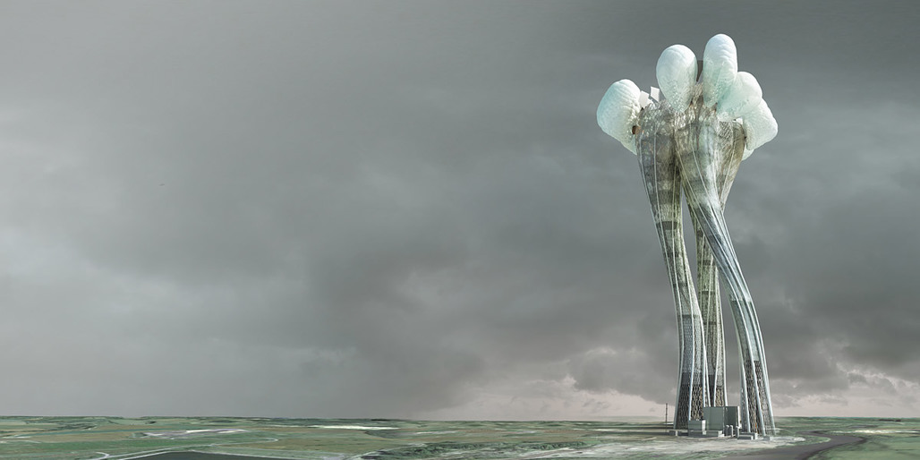 Honorable Mention at the eVolo 2012 Skyscraper Competition: Coal Power Plant Mutation Bogdan Chipara (Image: Bogdan Chipara)