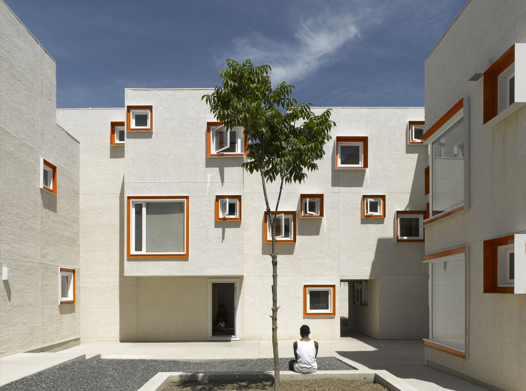 Centre Village by 5468796 architecture. Photo © James Brittain Photography