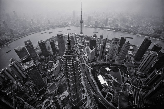 Pudong New Area, Shanghai. [Photo by wecand]