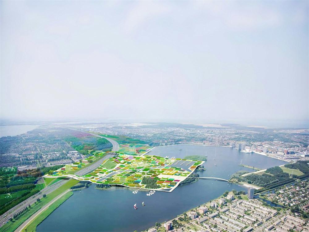 Overview Almere Floriade 2022 (Image: MVRDV)