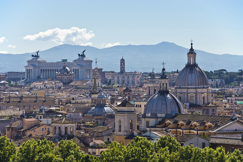 Romes skyline, image via wikimedia.org