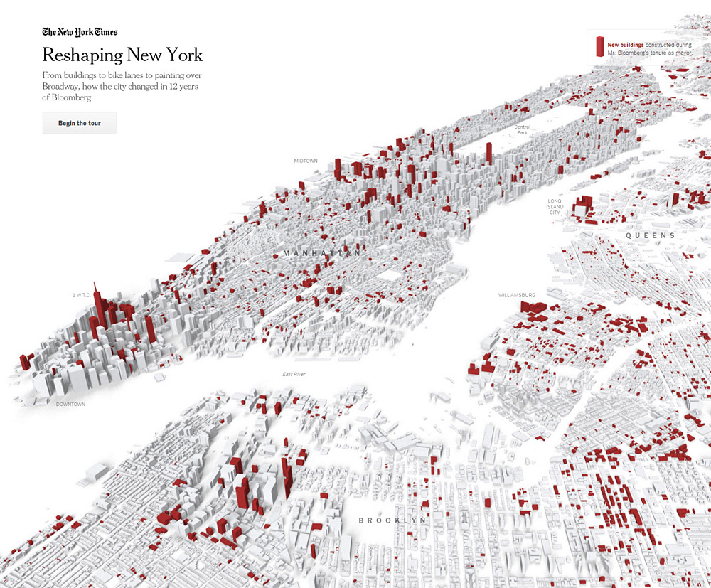 """Slide from the New York Times interactive feature """"Reshaping New York"""""""