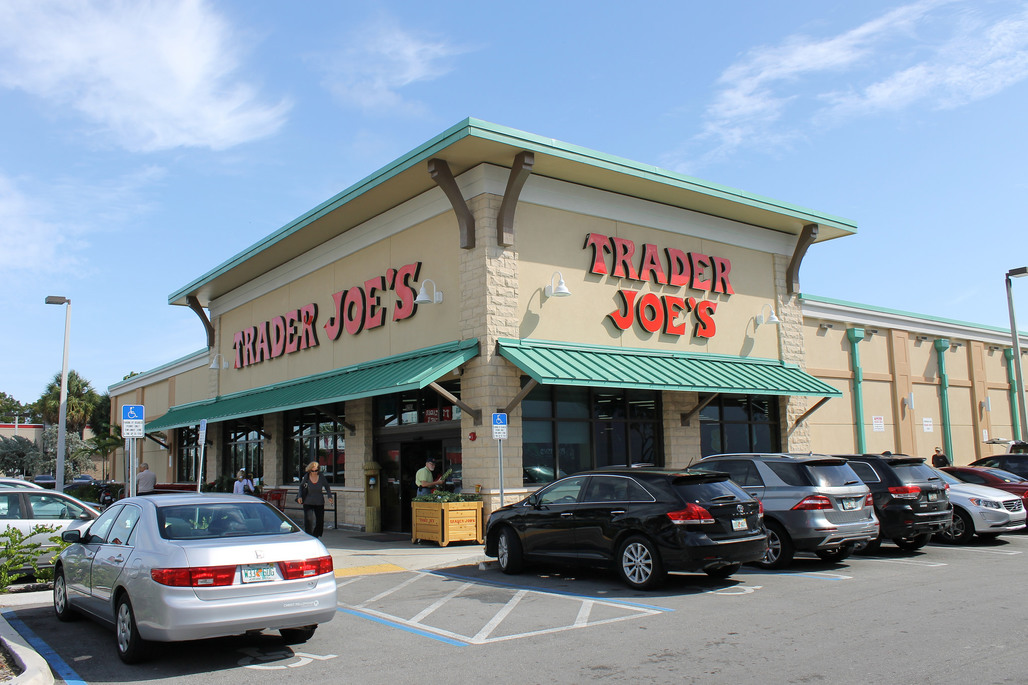 Angeleno shopping staple and parking hassle Trader Joes. Photo: Phillip Pessar via flickr.