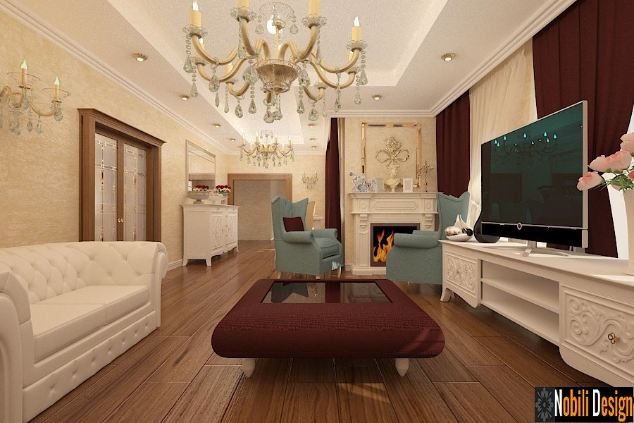 Interior Design Of A Classic Living Room In A Luxurious House Interior  Design Of A Classic Part 97
