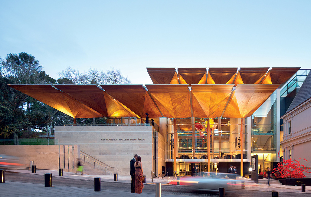 "Last years winner of the acclaimed title ""WAF World Building of the Year"": Auckland Art Gallery, New Zealand by Francis-Jones Morehen Thorp, fjmt + Archimedia - Architects in Association. Image courtesy of WAF; Photo: John Gollings."
