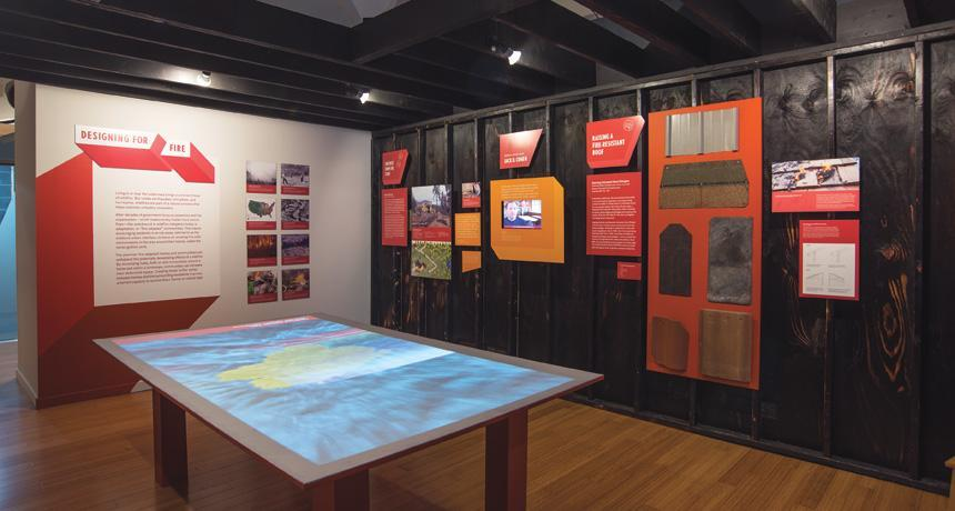 """The exhibit """"Designing for Disaster"""" is currently the National Building Museum in Washington, D.C. via: ScienceDaily credit: Allan Sprecher, courtesy of the National Building Museum"""