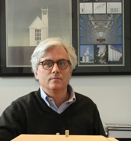 Scott Merrill has been named the recipient of the 2016 Richard H. Driehaus Prize. Image: University of Notre Dame, School of Architecture