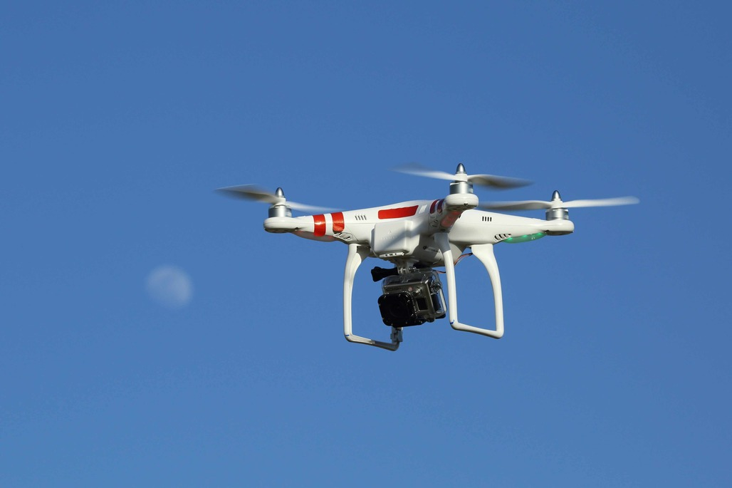 Drones could help engineers and scientists monitor bridge safety. Via: WikiCommons