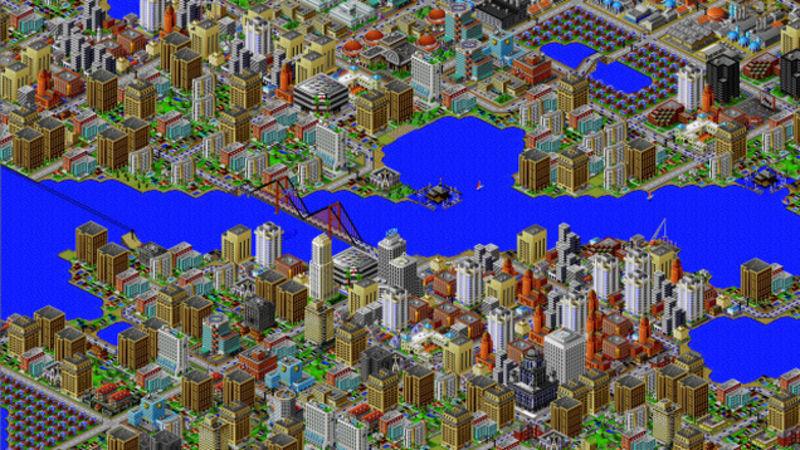 Screenshot of SimCity 2000. Image via kinja.com