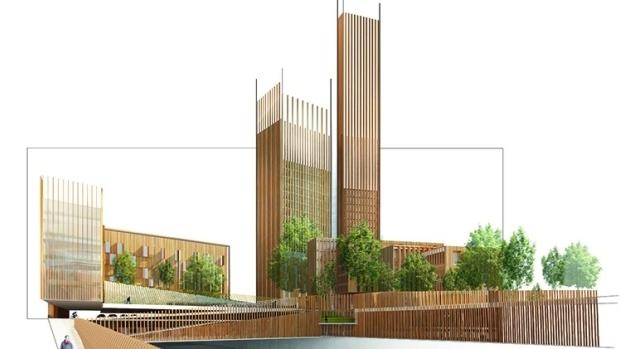 Image: Michael Green Architecture, via cbc.ca.