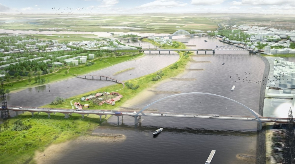 Image: Room for the River Waal, via citiscope.org