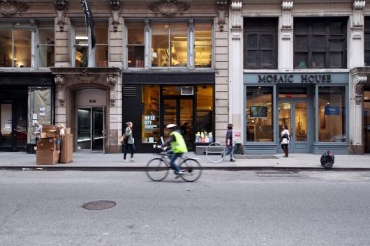 Van Alen Institutes ground floor space at 30 West 22nd Street in Manhattan.