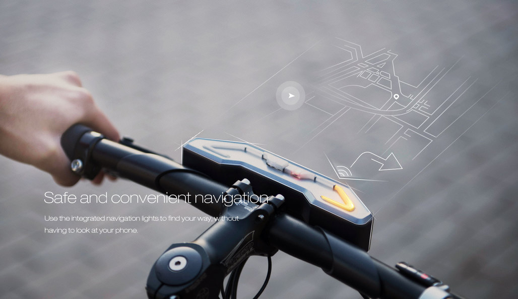 Concept image of Baidus most recent take on a smart bike, the DuBike. The next generation will, reportedly, be self-driving. (Image via dubike.baidu.com)