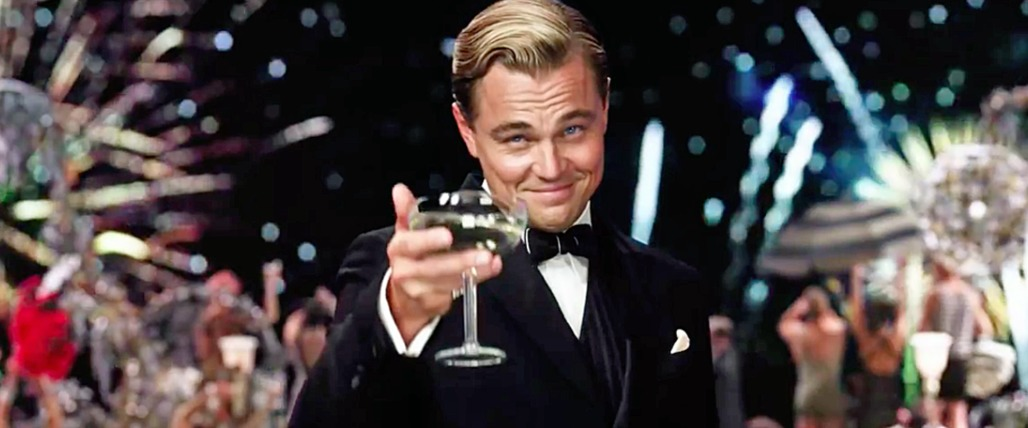 "Image from ""The Great Gatsby"" with Leonardo DiCaprio"