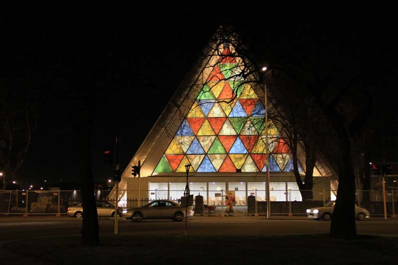 Shigeru Bans Cardboard Cathedral in Christchurch, New Zealand opened its doors to the public on the evening of August 6.