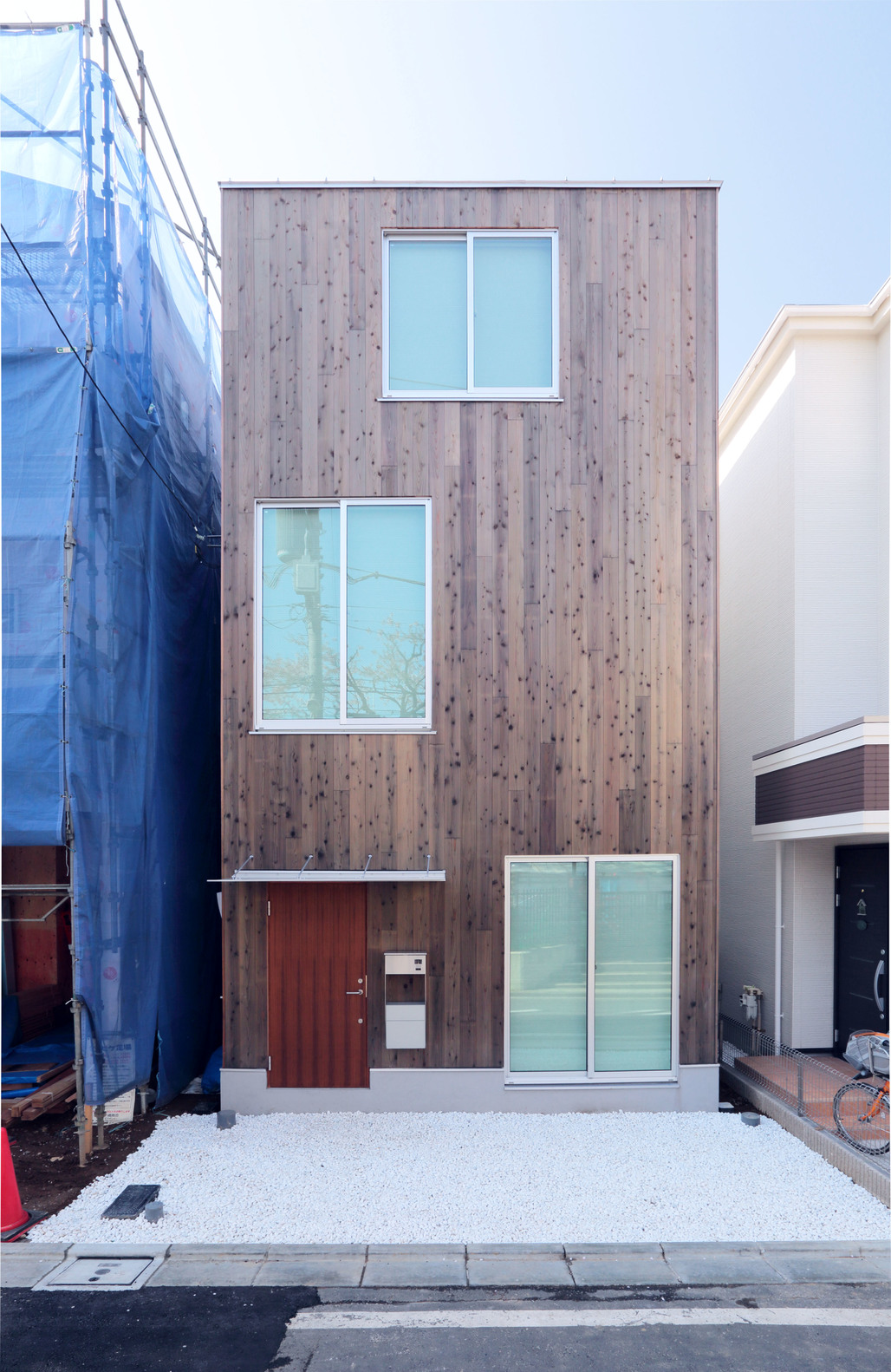 Vertical House, the latest prefab model by Japanese design brand Muji. Photo courtesy of Muji