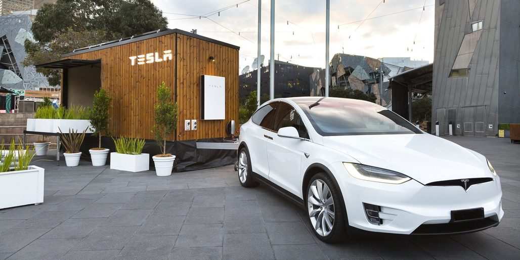 The Tesla Tiny House tour just kicked off in Melbourne and will visit Sydney, Brisbane, and Adelaide next. Image: Tesla, via electrek.co.