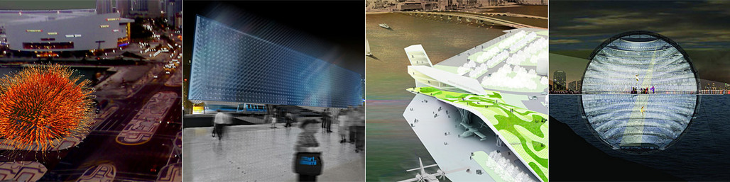 Images of the winning DawnTown Miami projects from the previous four years