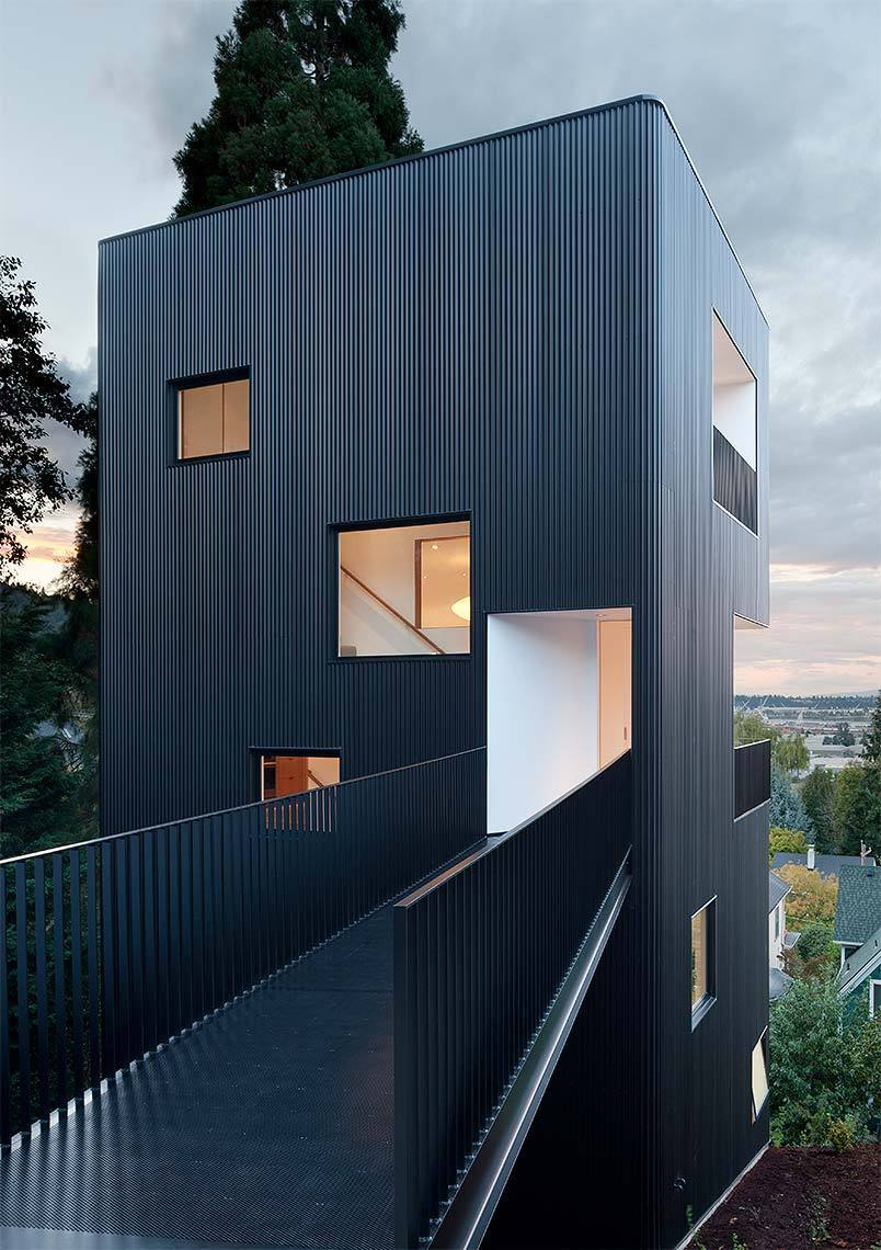 Tower House by Waechter Architecture.
