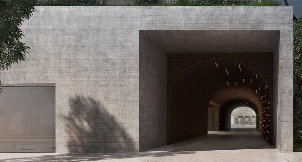 Initial rendering of Jardim. Courtesy of VUW Studio.