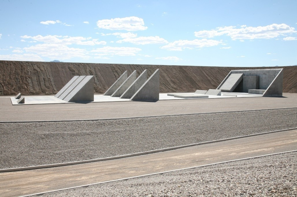 City by Michael Heizer. Photo: Tom Vinetz © Triple Aught Foundation.