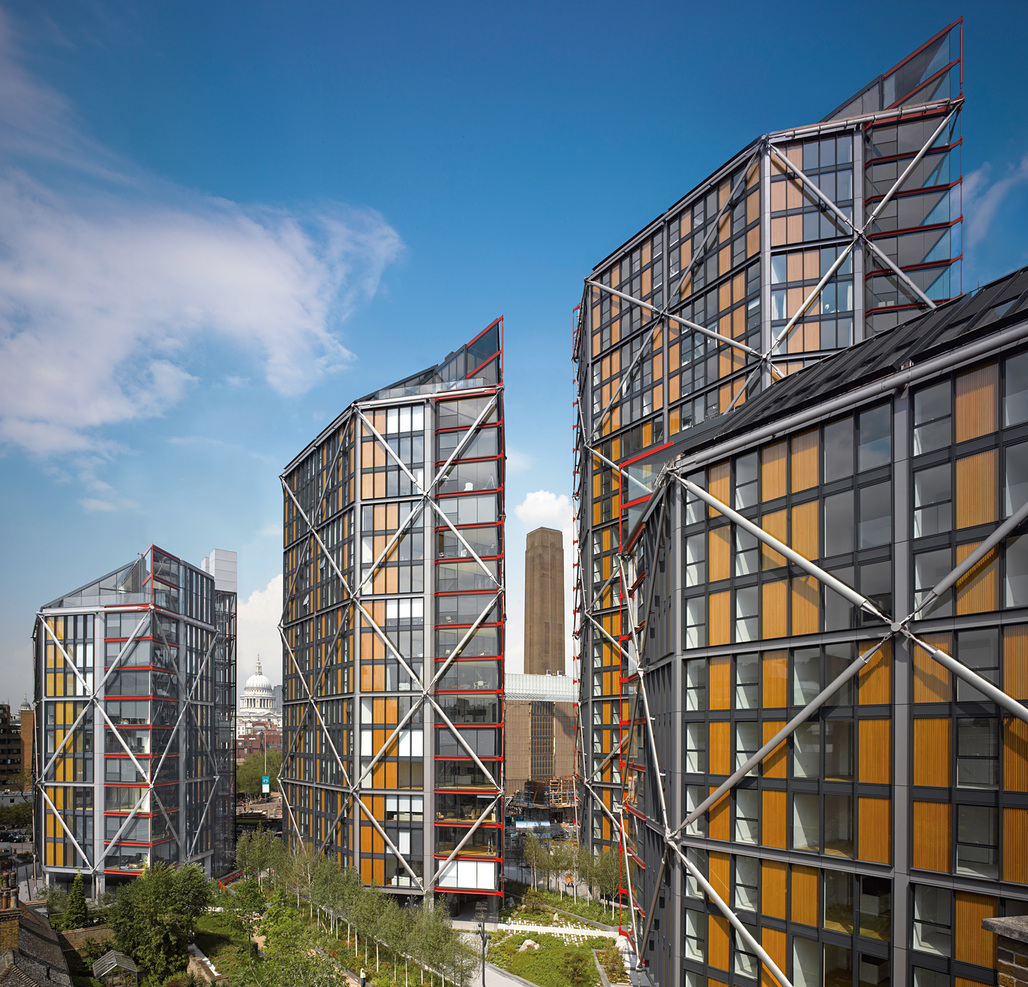 NEO Bankside by Rogers Stirk Harbour + Partners. Photo © Edmund Sumner.