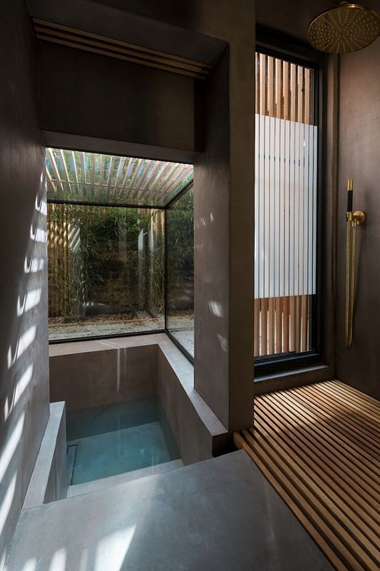 Sunken Bath Project in Hackney, UK by Studio 304
