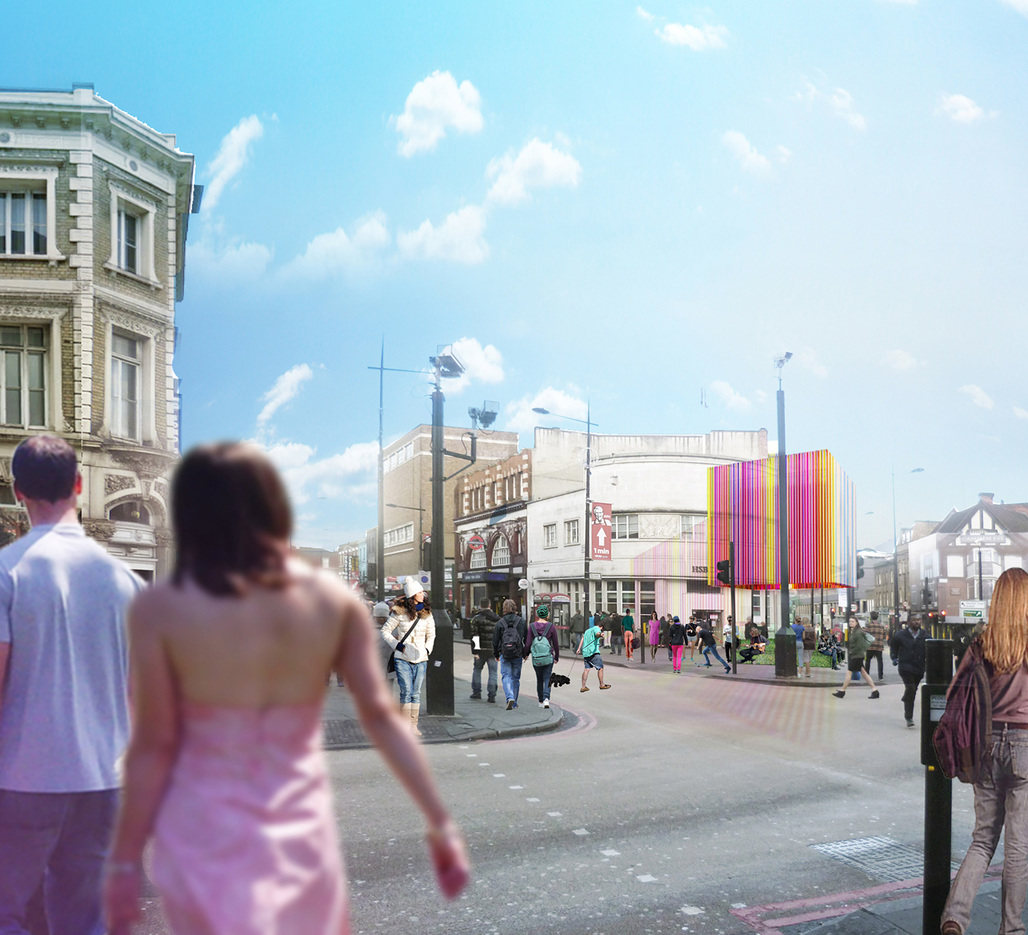 Camden Town Pavilion by KSR Architects. Image courtesy of KSR Architects