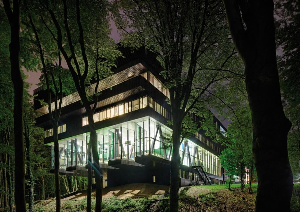 Groot Klimmendaal rehabilitation centre, in the eastern Netherlands. Designed by Architectenbureau Koen van Velsen
