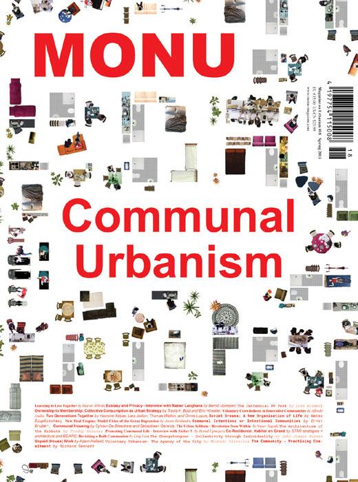 Cover of MONU #18 on Communal Urbanism