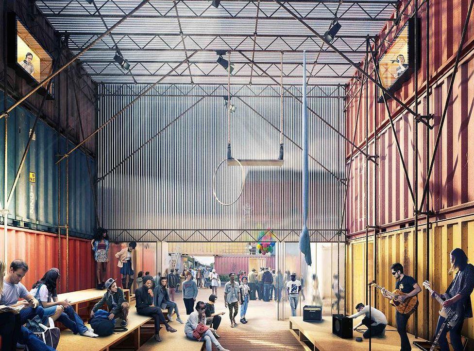 Image courtesy of POP Brixton / Carl Turner Architects