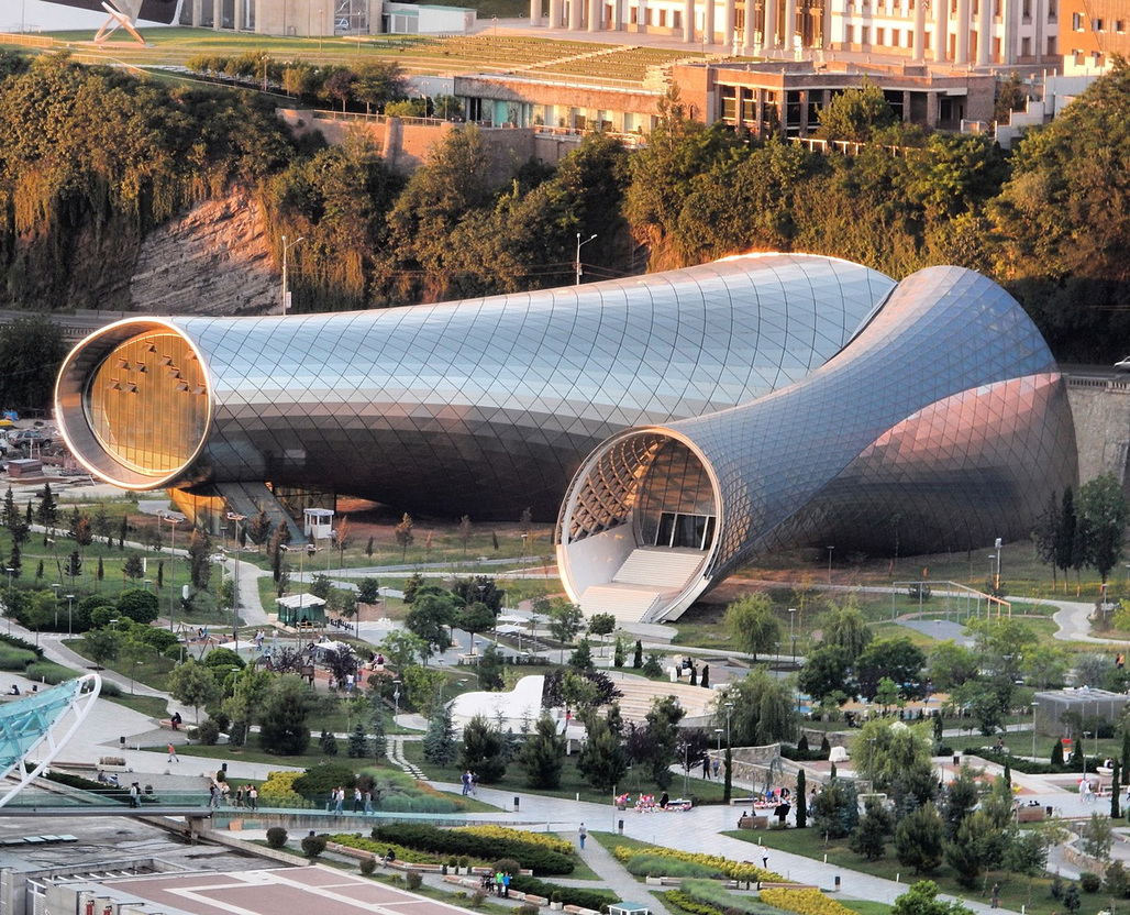 Rhike Park - Music Theatre and Exhibition Hall in Tbilisi, Georgia by Studio Fuksas
