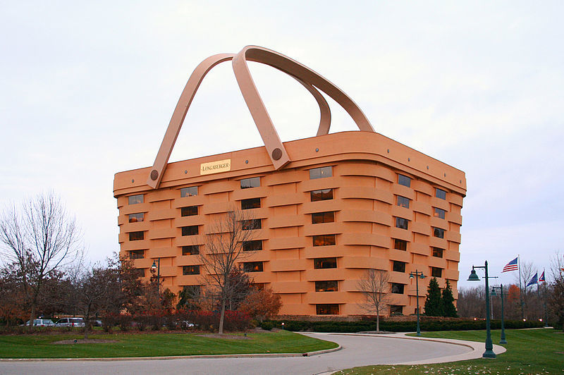 Newark, Ohio has a big basket case on its hands. Photo: Derek Jensen/Wikimedia Commons.