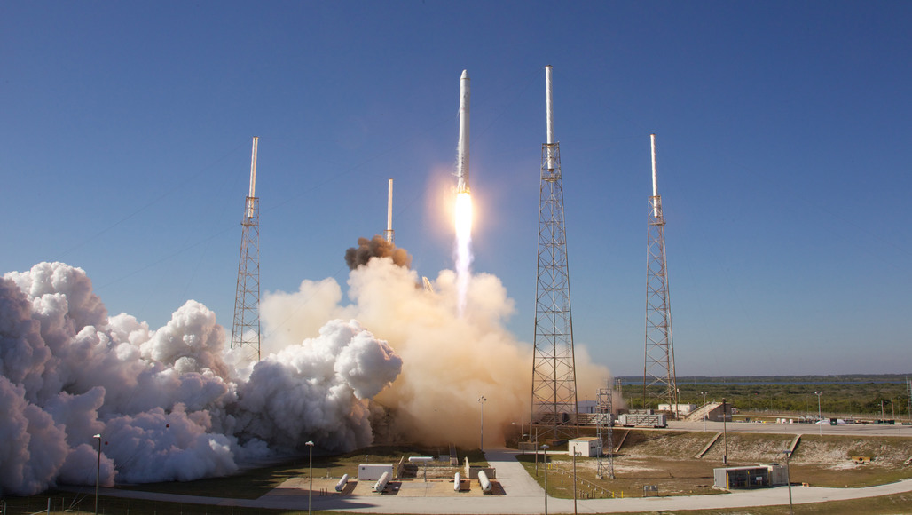 SpaceX launch site in Cape Canaveral Air Force Station, Florida (image via spacex.com).