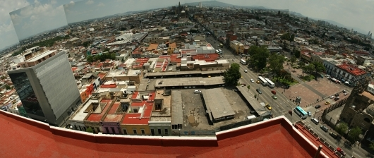 Panoramic view of Santuario. Photo courtesy of CoArq
