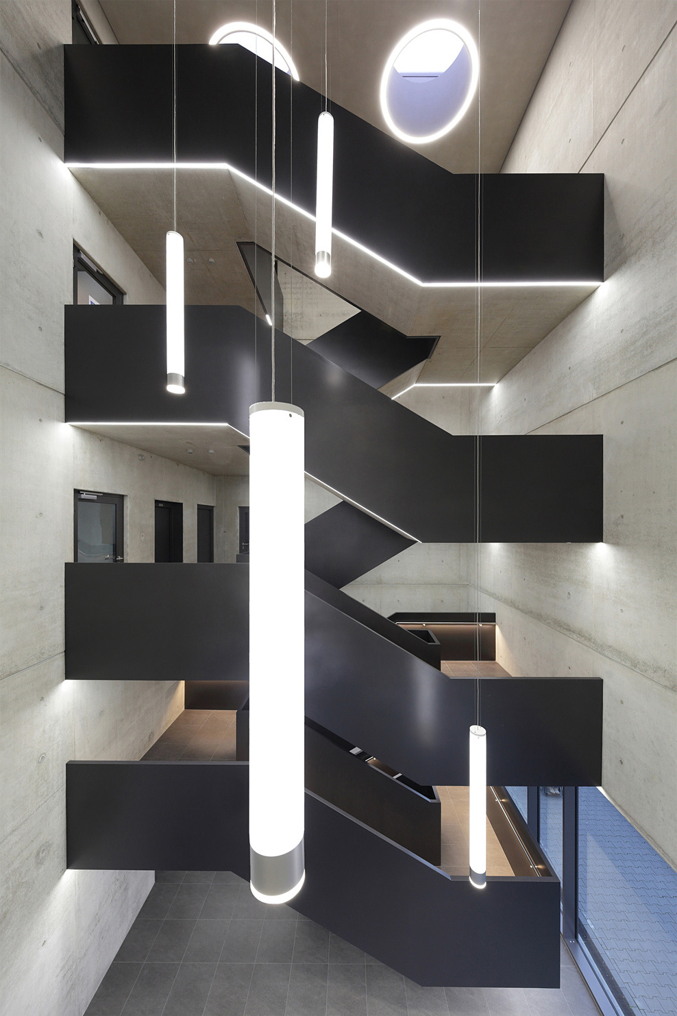 Ten top images on archinect 39 s interiors pinterest board for Interior design bielefeld
