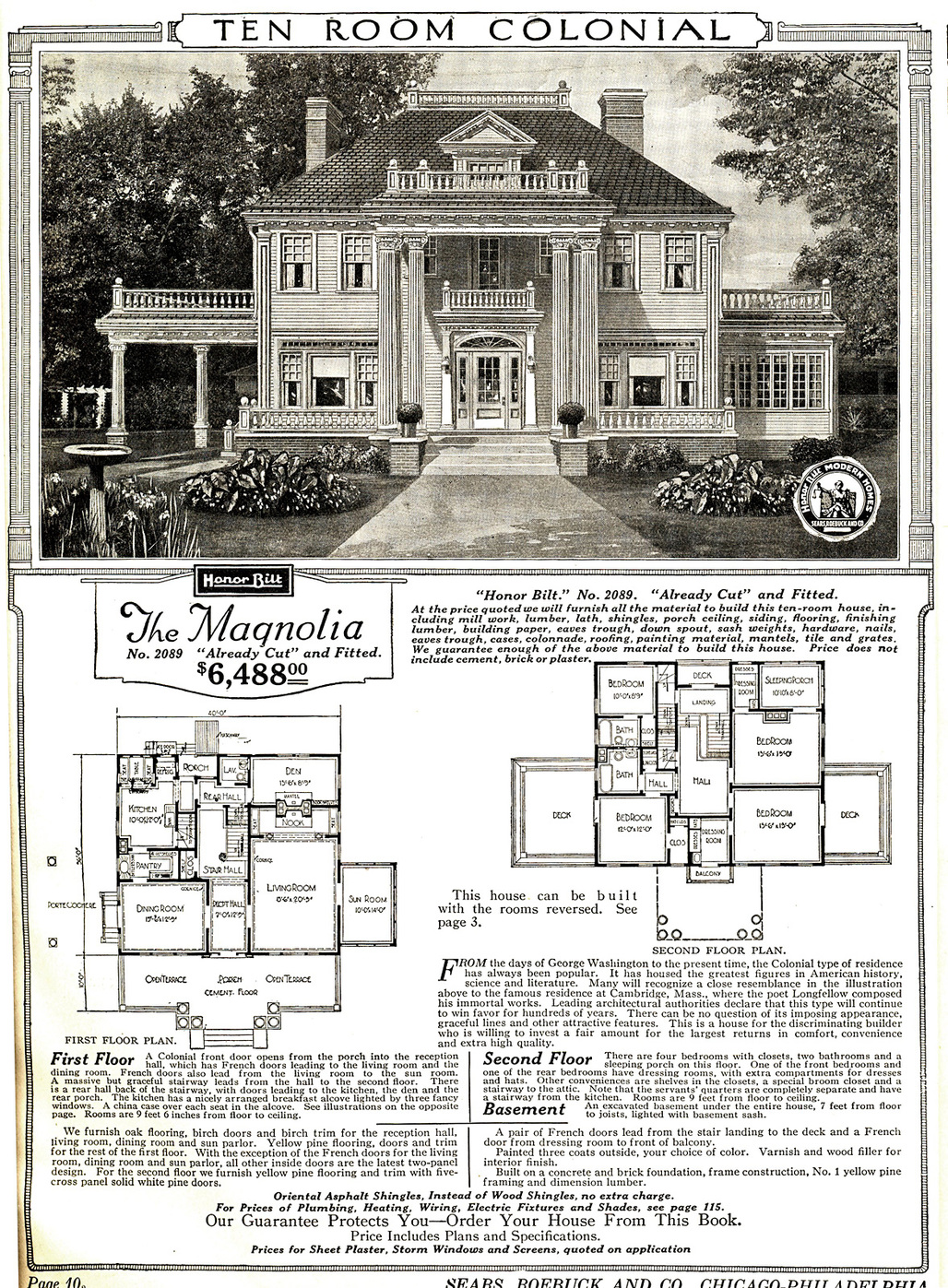 "This Sears ""Magnolia"" mail-order house could have been yours for only $6,488! That 1921 price, adjusted for inflation, translates to $86,722 in 2016 dollars. (Image via Wikipedia)"