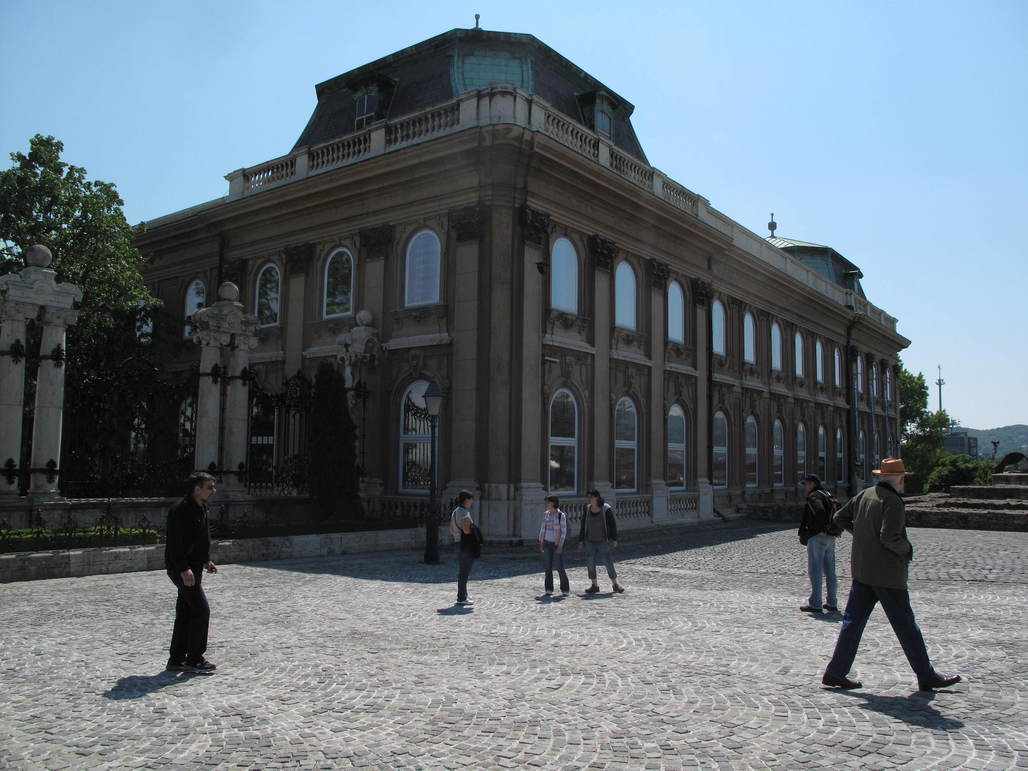 Hungarian National Gallery, where Prime Minister Viktor Orban intends to restore the palaces earlier grandeur and remove the Gallery as its tenant. Image via wikimedia.org.