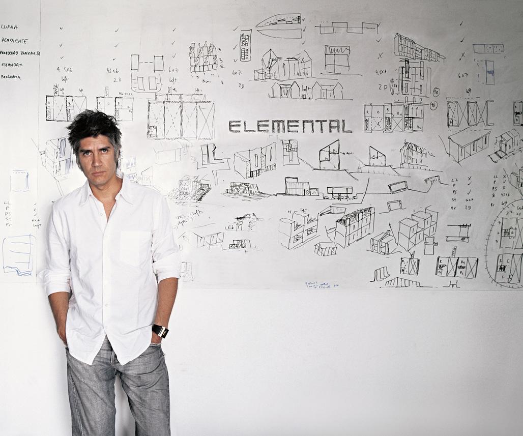 Alejandro Aravena. Photo by Cristobal Palma. Courtesy of ELEMENTAL.