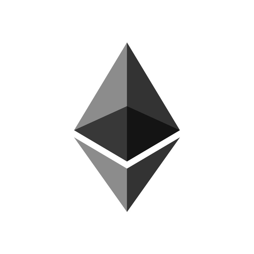 The Ethereum logo, via ethereum.org