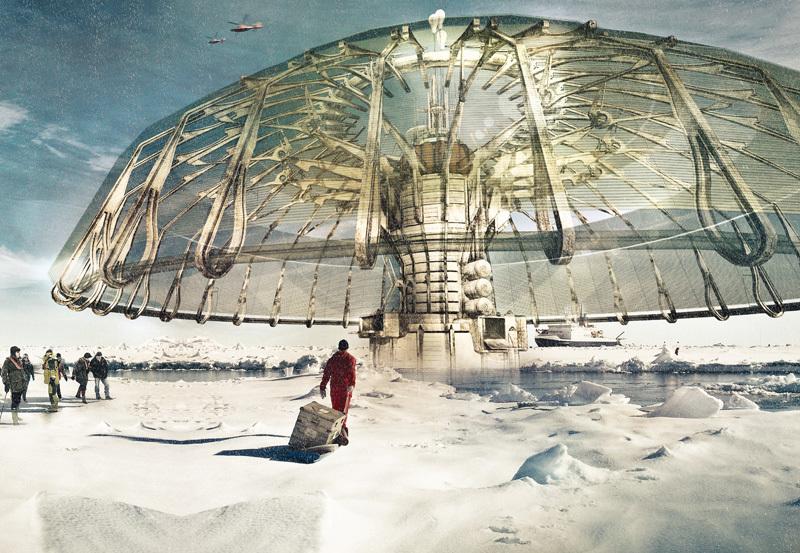 First Place: Polar Umbrella, Derek Pirozzi (United States)