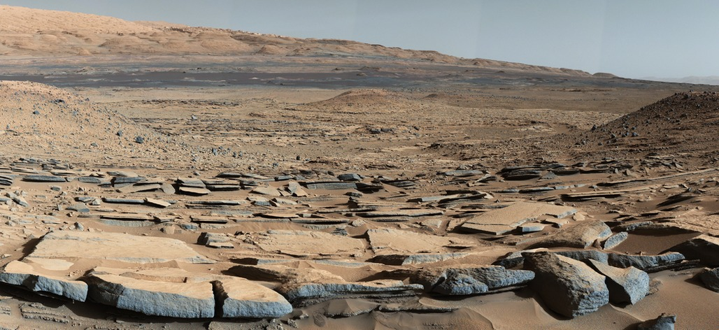 NASA has launched a competition looking for structures that could be built in situ on Mars, using native resources. Credit: NASA/JPL-Caltech/MSSS