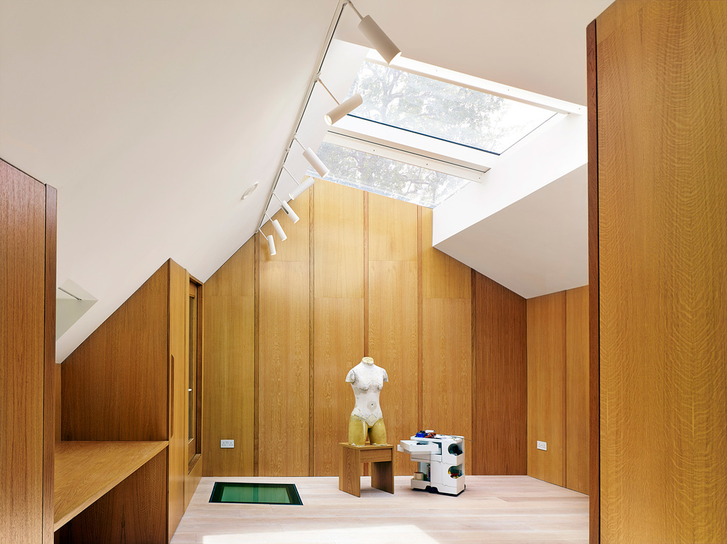 Garden House in Hackney, east London by Hayhurst and Co. Photo: Killian OSullivan.