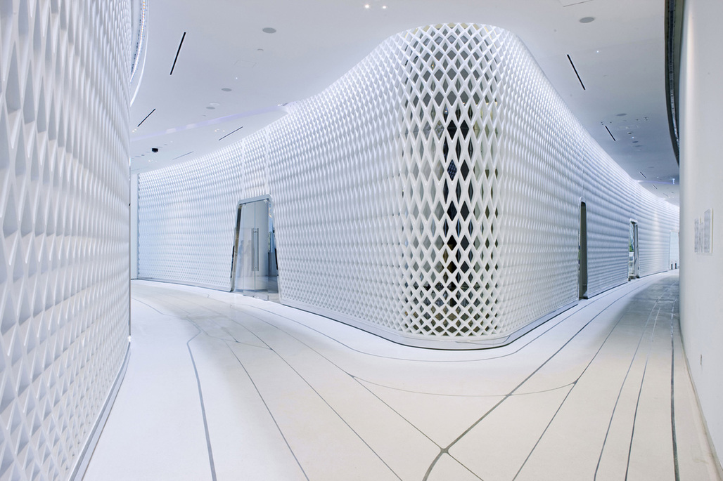 Yas Viceroy Hotel in Abu Dhabi, United Arab Emirates by Asymptote Architecture