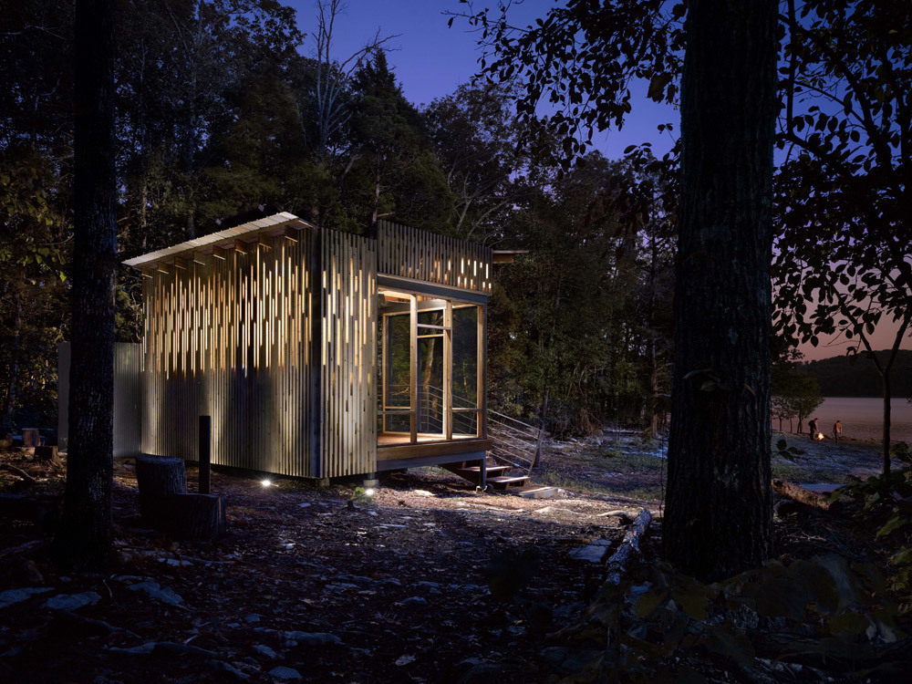 Cape Russell Retreat in Sharps Chapel, Tennessee by Sanders Pace Architecture